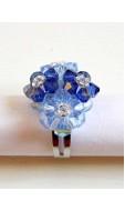 Tetra gyűrű, kék
